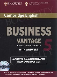 Cambridge English Business 5 Vantage Self-study Pack (SB with ans and Audio CDs (2))