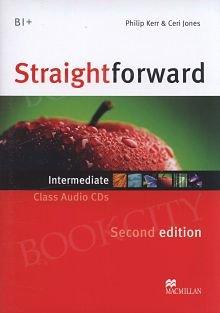 Straightforward 2nd ed. Intermediate Class CD
