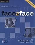 face2face 2nd Edition Pre-Intermediate Teacher's Book with DVD