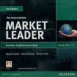 Market Leader 3rd Edition Pre-Intermediate Class Audio CD