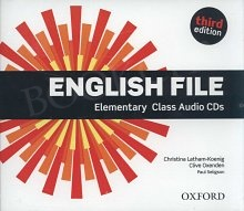 English File Elementary (3rd Edition) (2012) Class Audio CDs