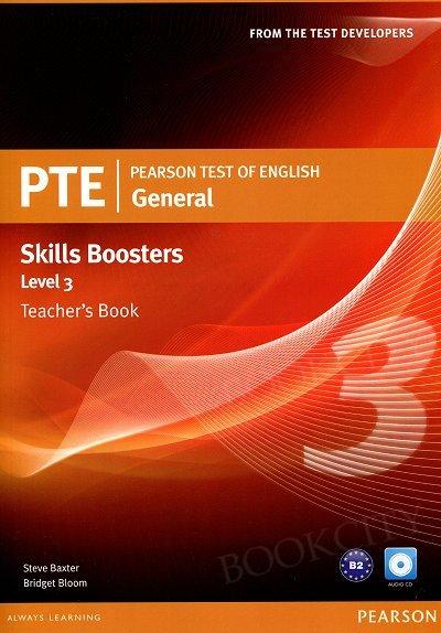 Pearson Test of English General Skills Booster 3 książka nauczyciela