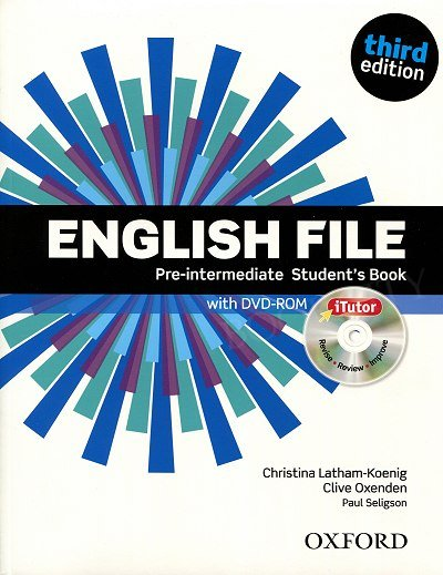 English File Pre-intermediate (3rd Edition) (2012) Student's Book