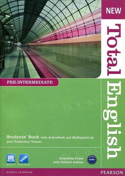 New Total English Pre-Intermediate Student's Book plus Active Book plus MyEnglishLab (z kodem)