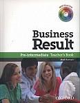 Business Result Pre-Intermediate książka nauczyciela