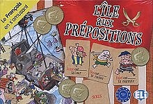 L'ile aux prepositions Gra językowa z polską instrukcją i suplementem