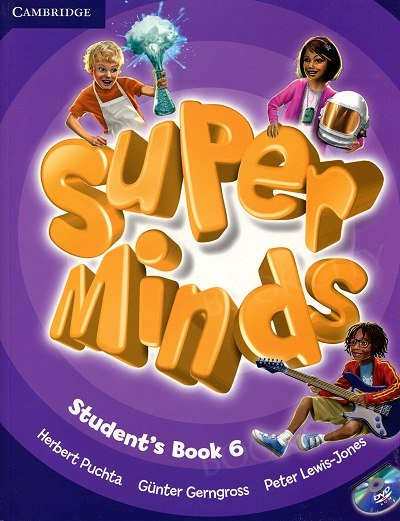 Super Minds 6 Student's Book with DVD-ROM