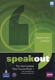 Speakout Flexi Pre-Intermediate Flexi Course Book 1 Pack
