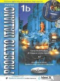 Nuovo Progetto Italiano 1B Podręcznik + ćwiczenia + płyta DVD + płyta CD