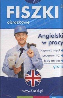 Fiszki obrazkowe angielskie W pracy Fiszki + program + mp3 online