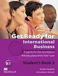 Get Ready for International Business 2 (TOEIC) Płyta audio CD