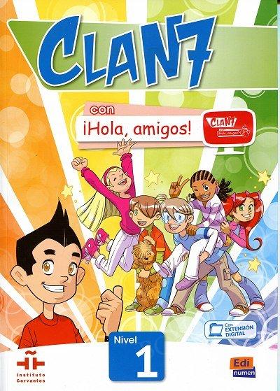 CLAN 7 con ¡Hola, amigos! Nivel 1 podręcznik