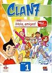 CLAN 7 con ¡Hola, amigos! Nivel 1 Podręcznik + kod dostępu online