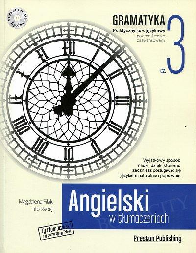 Angielski w tłumaczeniach. Gramatyka 3 Książka+CD