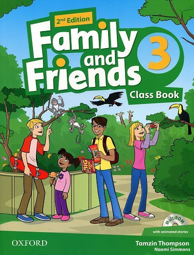 Family and Friends 3 (2nd edition) podręcznik