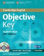 Objective Key (2nd Edition) Student's Book with Answers & CD-ROM