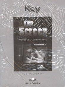 On Screen Pre-Intermediate B1 Klucz Zeszyt ćwiczeń (Workbook & Grammar Book)