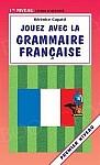 Jouez avec la grammaire française - premier niveau Książka
