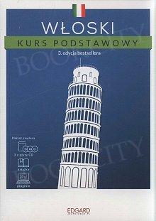 Włoski Kurs podstawowy (3 edycja) Książka + 3 płyty CD + program
