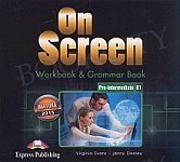 On Screen Pre-Intermediate B1 CD Matura Workbook & Grammar Book Audio CD
