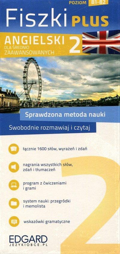 Angielski Fiszki PLUS dla średnio zaawansowanych 2 Fiszki + program + mp3 online