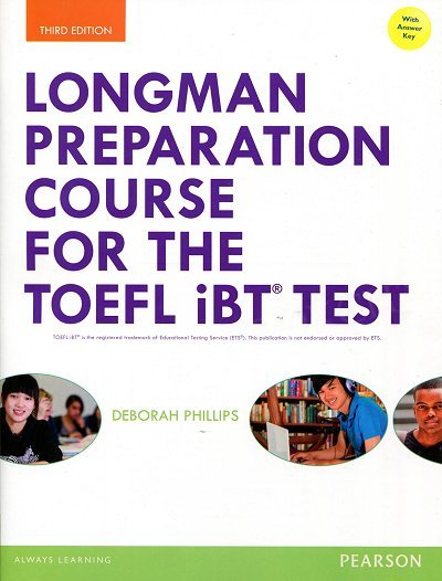 Longman Preparation Course for the TOEFL iBT Test Student Book with MyEnglishLab and key + MP3
