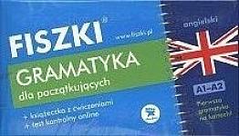 Fiszki język angielski. Gramatyka dla początkujących Fiszki + program online