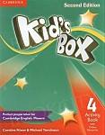 Kid's Box 4 (Updated 2nd Ed) książka nauczyciela