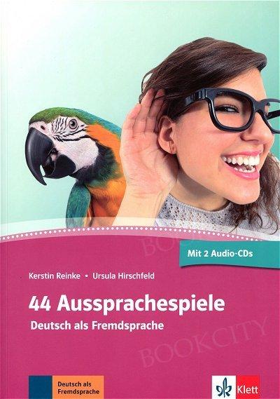 44 Aussprachespiele Książka + CD + audio online
