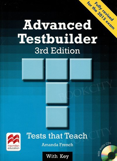 Advanced Testbuilder Book with Key & Audio CD