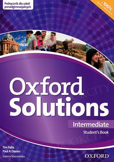 Oxford Solutions Intermediate podręcznik