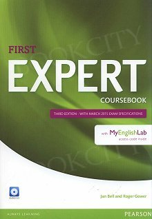 First Expert Coursebook with Audio CD and MyEnglishLab