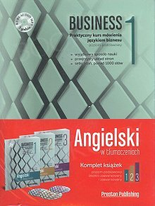 Angielski w tłumaczeniach. Business komplet 1-3 + CD