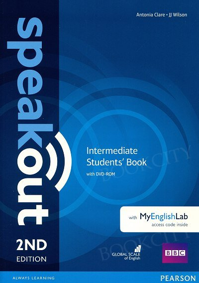 Speakout Intermediate (2nd edition) Student's Book with DVD-ROM + kod MyEnglishLab