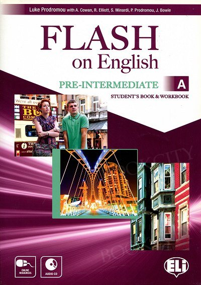 Flash on English Pre-intermediate A Student's Book and Workbook
