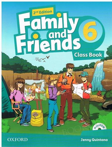 Family and Friends 6 (2nd edition) podręcznik