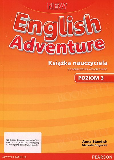 New English Adventure 3 Książka nauczyciela