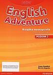 New English Adventure 3 (WIELOLETNI) książka nauczyciela