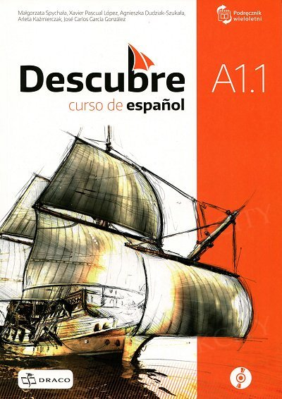 Descubre A1.1 (ponadgimnazjalny) podręcznik