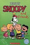 Peanuts: Snoopy and Friends (poziom 2) Reader + Audio CD