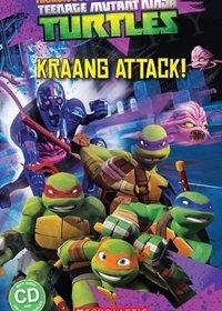 Teenage Mutant Ninja Turtles: Kraang Attack! (poziom 2) Reader + Audio CD