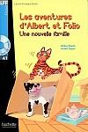 Albert et Folio: Une nouvelle famille książka + CD