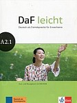 DaF leicht A2 Kurs- und Übungsbuch + DVD A2.1