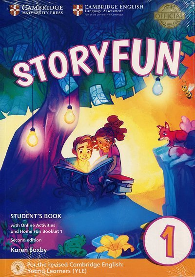 Storyfun 1 Starters Student's Book with Online Activities and Home Fun Booklet