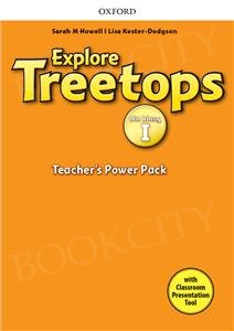 Explore Treetops 1 dla klasy I Teacher's Power Pack z kodem dostępu do Classroom Presentation Tool