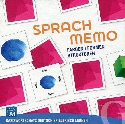 Sprachmemo Deutsch. Farben/Formen/Stuktu