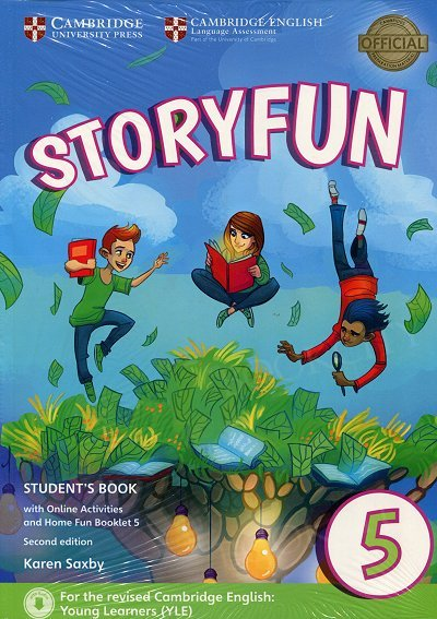 Storyfun 5 Flyers Student's Book with Online Activities and Home Fun Booklet