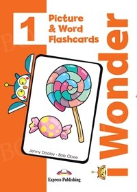 I Wonder 1 Picture & Word Flashcards