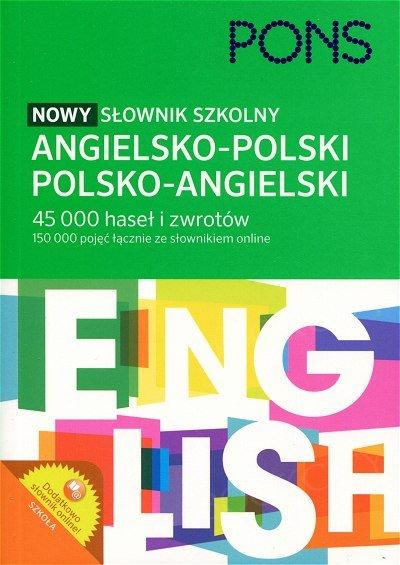 Nowy słownik szkolny angielsko-polski polsko-angielski