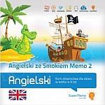 Angielski ze Smokiem Memo 2 Kurs słownictwa dla dzieci w wieku 4-6 lat (poziom podstawowy A0)